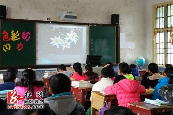 """湖南省衡阳县5所学校安装""""班班通""""系统 山里娃享受教育现代化"""
